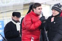 Político Konstantin Jankauskas Fotos de archivo
