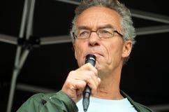 Político Rasmus Hansson do Partido Verde Foto de Stock Royalty Free