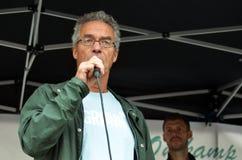 Político Rasmus Hansson do Partido Verde Foto de Stock