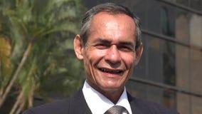 Político Or Salesman do homem de negócios imagem de stock royalty free