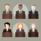 políticos Imagens de Stock