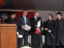 Políticos cinzentos e companheiros de Vincent Fotos de Stock
