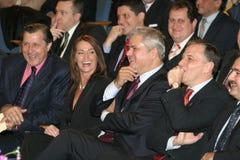 Políticos romenos Imagem de Stock Royalty Free