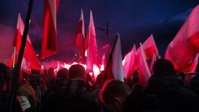 11 11 Polônia 2017 Imagem de Stock Royalty Free