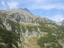 Polônia, Malopolska, montanhas de Tatra - a montagem de Kozi Wierch fotografia de stock
