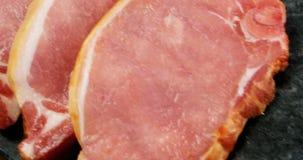 Polędwica kotleciki i minced mięso zbiory