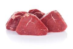 Polędwicowego stku wołowiny mięso Fotografia Royalty Free