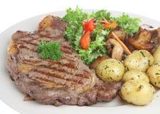 polędwica obiadowy stek Obraz Royalty Free