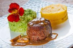 Polędwicowego Mignon stek Obraz Royalty Free