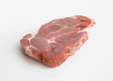 polędwicowej surowy stek szkockie wieprzowiny Zdjęcie Royalty Free