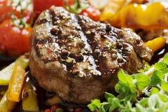 polędwicowy pieprzowy stek Obraz Royalty Free
