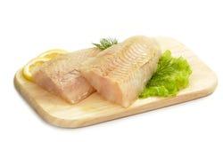 polędwicowy rybi surowy Fotografia Stock
