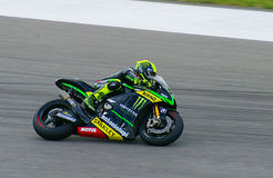 Pol ESPARGARO at Austin MotoGP 2014. Pol ESPARGARO is a top rider in the MotoGP racing series. He is consistently in the top five finishers and has a bright Stock Photo