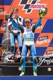 Pol Espargaro in het podium Stock Foto