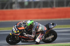 Pol espargaro, moto 2, 2012 Royalty Free Stock Image