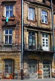Polônia de Kracow da rua Fotografia de Stock