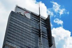 Polônia de Varsóvia, o 11 de junho de 2016 Torre do comércio de Varsóvia Imagens de Stock