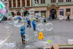 Polônia, Krakow Imagem de Stock Royalty Free