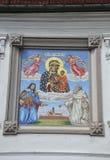 Polônia, o 20 de agosto de 2014 - monastério Madonna preto de Czestochowa no Polônia Fotografia de Stock
