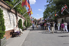 Polônia, o 20 de agosto de 2014 - monastério Madonna preto de Czestochowa no Polônia Imagem de Stock Royalty Free