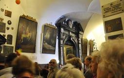 Polônia, preto Madonna de agosto 20,2014-Monastery de Czestochowa no Polônia Fotos de Stock