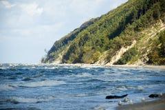 Polônia Wolin do mar Báltico - costa imagem de stock royalty free