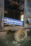 Pol pot mobile khmer rouge radio station anlong veng cambodia Royalty Free Stock Photos