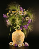 pola bukiet kwiatów Zdjęcia Stock