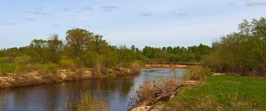 pola rzeka Zdjęcie Stock