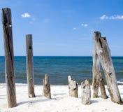 polacy otokowi drewnianych Zdjęcia Stock