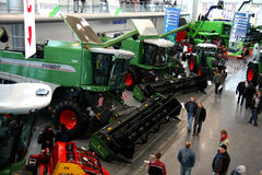 POLAGRA PREMIERY 2010 -FENDT HARVESTERS Stock Photos