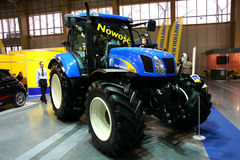 POLAGRA PREMIERY 2010 - NEW HOLLAND Royalty Free Stock Images