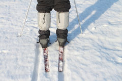 Polainas na calças Fotografia de Stock Royalty Free