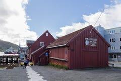 Polair Museum in Tromso, Noorwegen stock foto