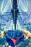 Polair schip Fram in Oslo, Noorwegen royalty-vrije stock afbeelding
