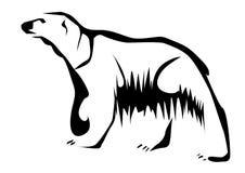 Polaire Bear vector illustratie