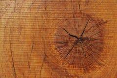 Polakierowana drewniana deska Zdjęcie Royalty Free