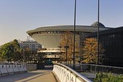 Poland – Upper Silesia – Katowice – Spodek sports and concert hall Stock Image