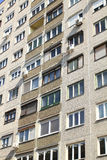 Poland. Typical socialist block of flats in Warsaw, Poland Royalty Free Stock Photo