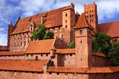 Poland. Malbrok Castle - an old Polish castle Royalty Free Stock Image