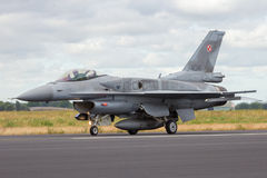 Poland Air Force F-16 Royalty Free Stock Photography