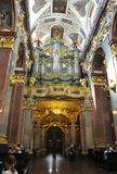Poland,August 20,2014-Monastery Black Madonna from Czestochowa in Poland Royalty Free Stock Images