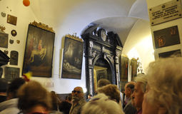 Poland,August 20,2014-Monastery Black Madonna from Czestochowa in Poland Stock Photos