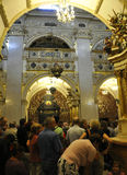 Poland,August 20,2014-Monastery Black Madonna from Czestochowa in Poland Royalty Free Stock Photography