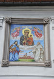 Poland,august 20th 2014-Monastery Black Madonna from Czestochowa in Poland Stock Photography