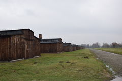 Poland, Auschwitz Concentration Camp. Stock Images