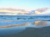 Poland - beach royalty free stock photos