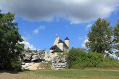 Poland - Bobolice castle Royalty Free Stock Photography