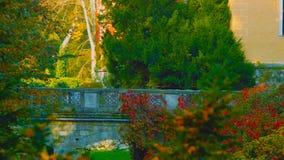 poland Castelo medieval em Niedzica, castelo superior, polon?s do s?culo XV ou h?ngaro no lago artificial passado Czorsztyn e imagem de stock