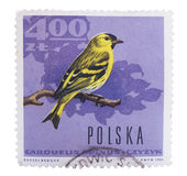 POLAND - CIRCA 1966: A stamp printed in  shows European go Royalty Free Stock Images